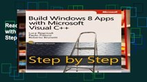 Reading Online Build Windows 8 Apps with Microsoft Visual C++ Step by Step (Step by Step