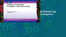 Access books High Fidelity Haptic Rendering (Synthesis Lectures on Computer Graphics and