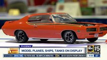 Model planes, ships and tanks on display in Phoenix
