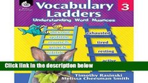 Readinging new Vocabulary Ladders: Understanding Word Nuances Level 3 D0nwload P-DF