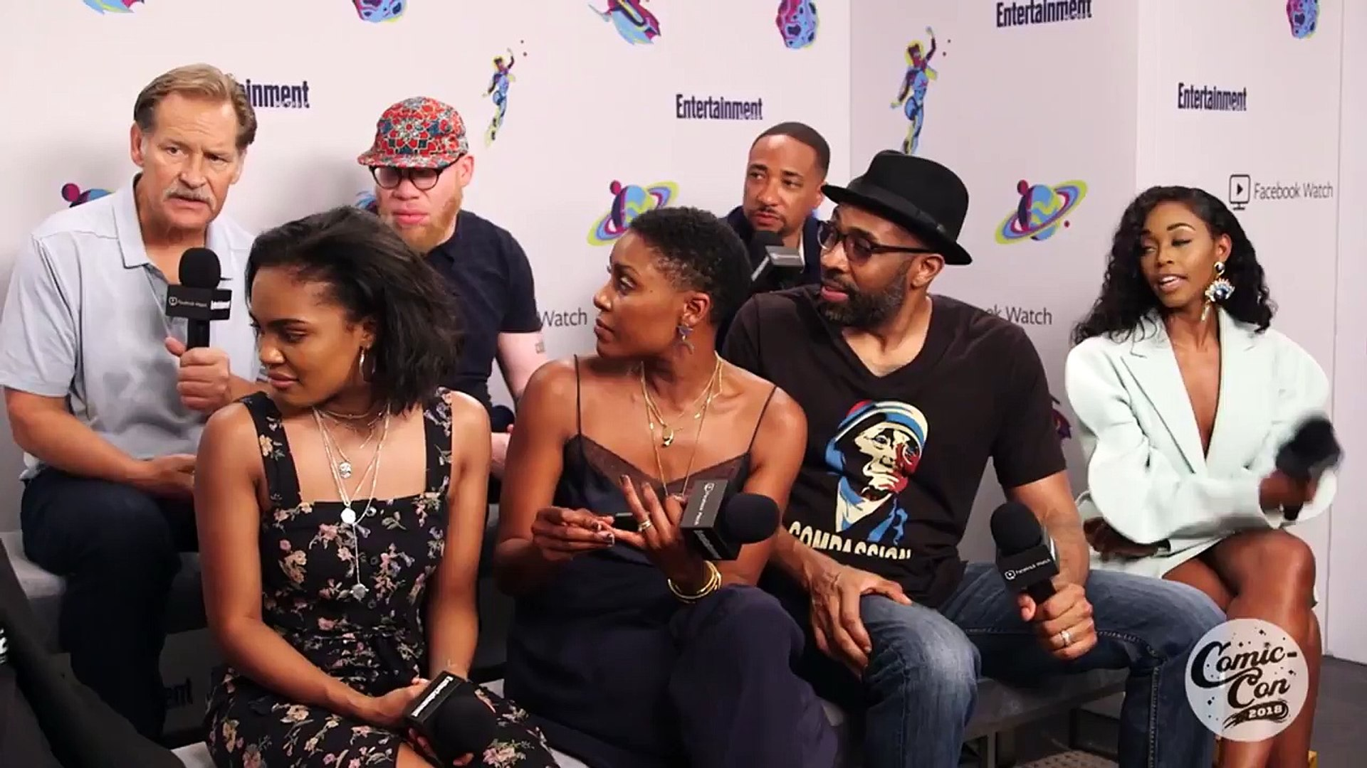 'Black Lightning': The Cast Dishes On Their Lives Since Season 1 | SDCC 2018 | Entertainme