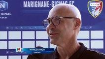 Interview entraineur de Marignane