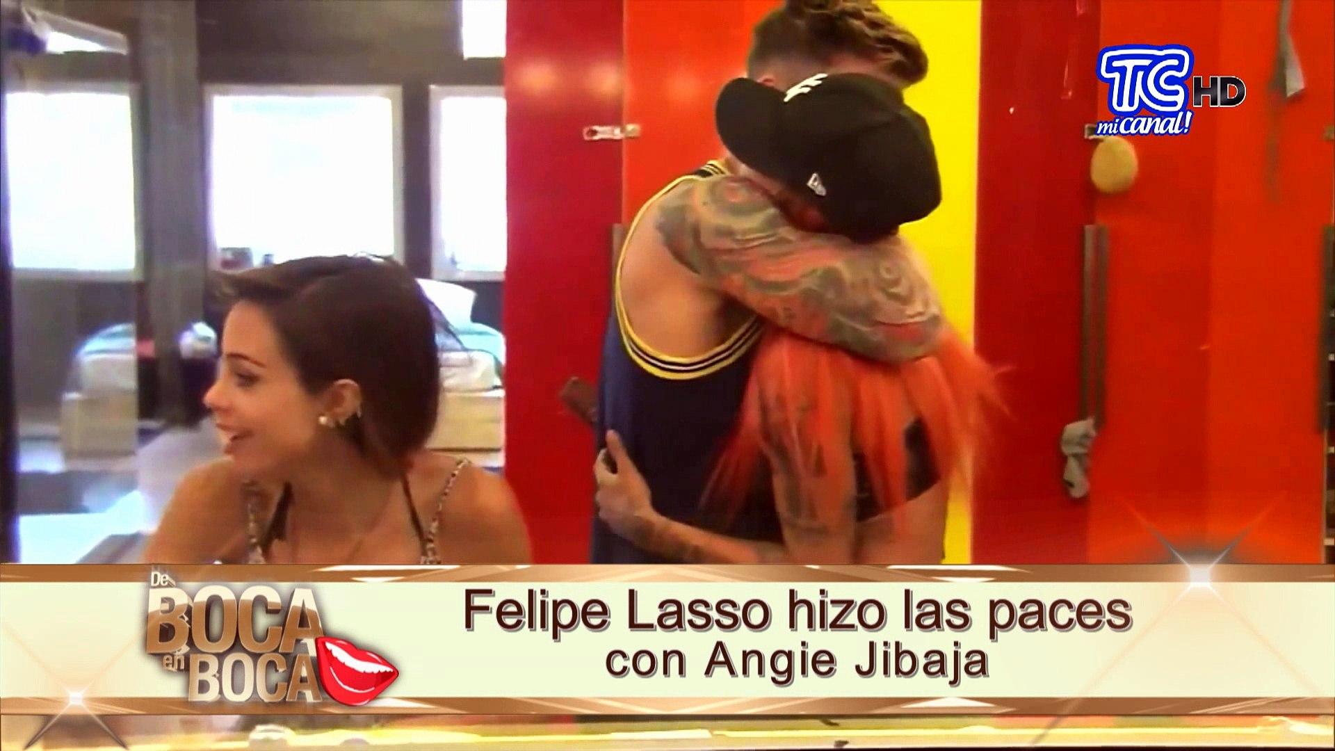 Angie Jibaja felipe lasso aclara rumores de que habría regresado con su expareja angie  jibaja