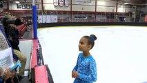 Star 4 Girls U10 Flight A (Skaters 7-9) Skaters 1-6 not recorded - 2018 Wild Rose Invitational- Sobeys Arena
