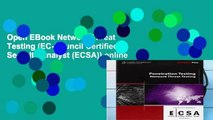 Open EBook Network Threat Testing (EC-Council Certified Security Analyst (ECSA)) online