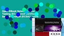 Open EBook Network Threat Testing (EC-Council Certified Security Analyst (ECSA)) online