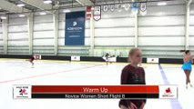 Novice Women Short Program - Flight B - 2018 Wild Rose Invitational- Robinsons Arena
