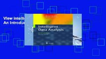View Intelligent Data Analysis: An Introduction Ebook