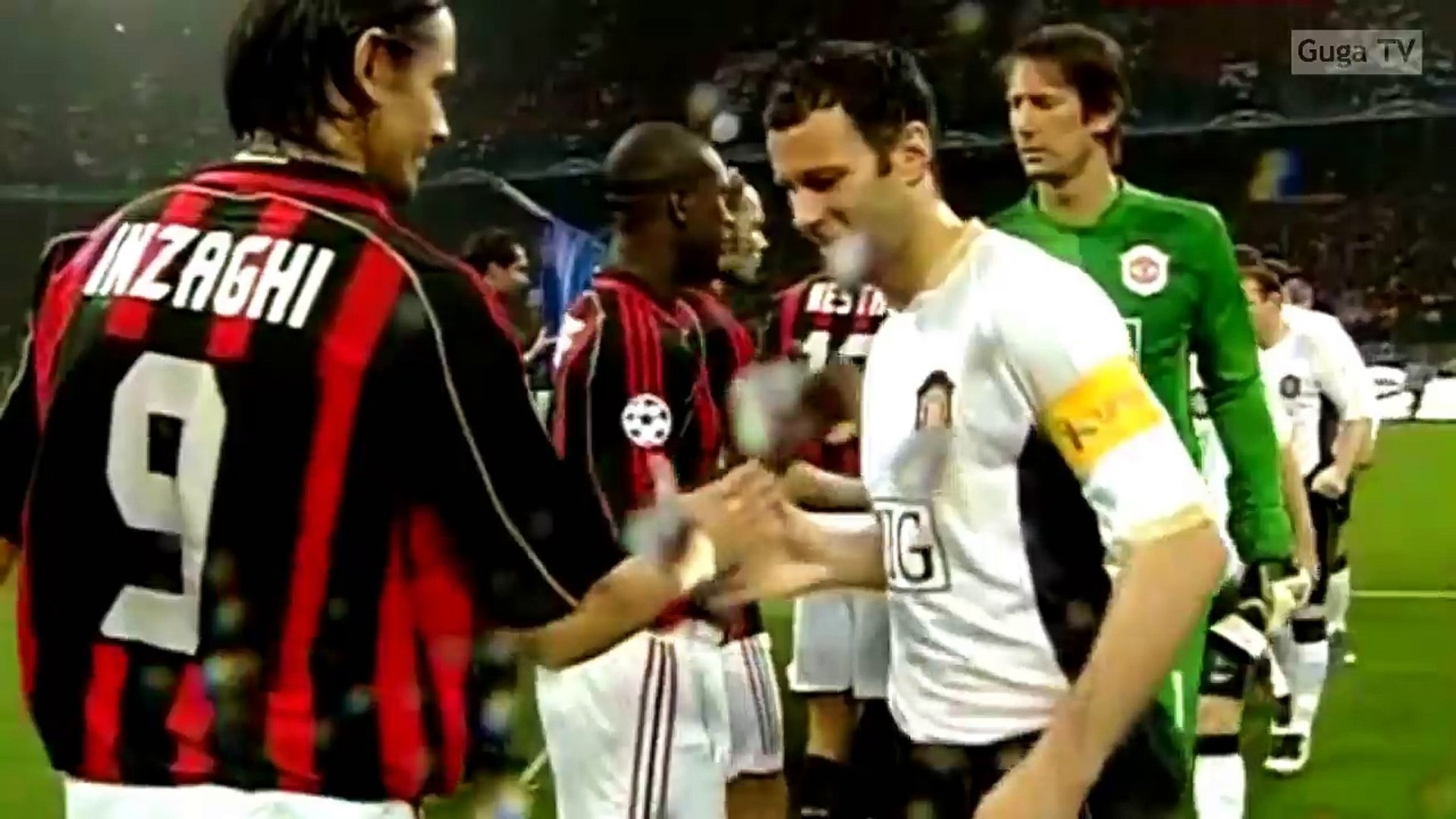 Ac Milan Vs Manchester United 3 0 Ucl 2006 2007 Highlights English Commetnary Video Dailymotion