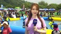 [날씨] 주말도 푹푹 찐다, 서울 34.1℃...물놀이로 더위 날려요 / YTN