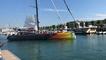 Le retour à  quai d'Ant-Artic-Lab, bateau de Norbert Sedlacek