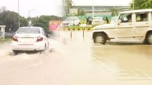 Heavy rainfall hits Lucknow, City streets Waterlogged | Oneindia News