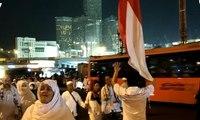 Bendera Merah Putih Dikibarkan agar Jemaah Tak Tersesat