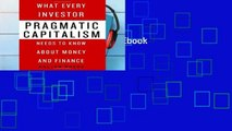 View Pragmatic Capitalism Ebook Pragmatic Capitalism Ebook
