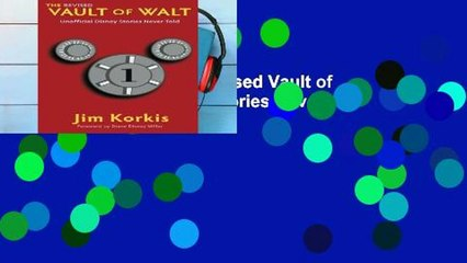Get s  The Revised Vault Of Walt Unofficial Disney Stories Never Told The Vault Of Full Movies