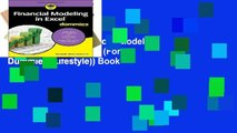 Unlimited acces Financial Modeling in Excel For Dummies (For Dummies (Lifestyle)) Book