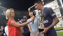 Trophée des champions: Post match interviews