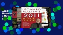 Reading Leonard Maltin s Movie Guide (Leonard Maltin s Movie Guide (Mass Market)) any format