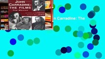 this books is available John Carradine: The Films any format
