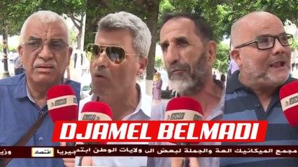Réaction des algériens après nomination de Belmadi