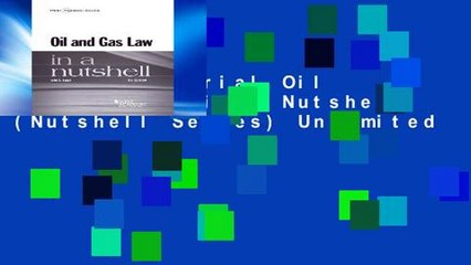 Get s  Oil And Gas Law In A Nutshell Nutshell Series Unlimited Full Movies