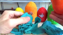 PAW PATROL Nickelodeon Play Doh Surprise Eggs Toys with Marshall, Rocky, Rubble , Chase, Z