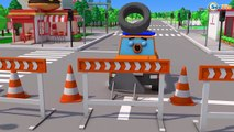 Fast Racing Cars for Kids in Car Cartoon Video for Children!