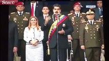Maduro'ya kamera karşısında suikast girişimi