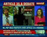 SC to hear petitions challenging its validity on Article 35 on August 6