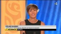 Invitée du journal : Céline Dumerc, capitaine de l'équipe de France de basket