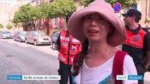 Canicule : Séville écrasée par la chaleur