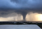 Large Waterspout Sweeps Across Sea Off Italian Island