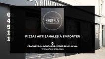 Showpizz, pizzas à emporter à Laval, Ernée, Craon, Evron, Bonchamp et Segré.