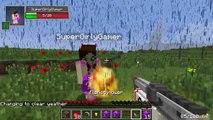 Minecraft: ROCKET LAUNCHERS EXPLOSIVE CHALLENGE GAMES