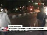 Aksi Anarkis Mahasiswa Tutup Paksa Tempat Hiburan Malam di Makassar