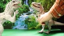 Jurassic World - Rencontre avec l'Indominus Rex - Vidéo