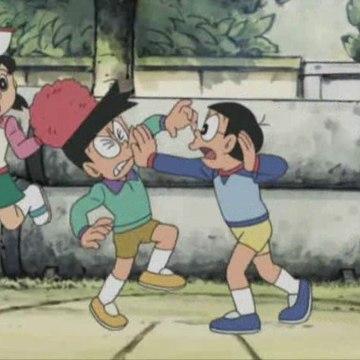 Doraemon (2005) - As luvas da animadora que levan á vitoria