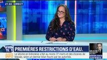 Sécheresse: des restrictions d'eau dans 39 départements
