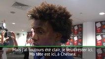 "Chelsea - Willian : ""Je veux rester ici"""