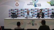 TFF Süper Kupa maçının ardından - Fatih Terim - KONYA