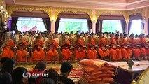 Thai cave boys leave stint as monks