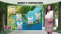 Welcome sporadic rainfall in inland regions _ 080618