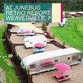 Glamp like a rockstar when you visit JuneBug Retro Resort. You can pop over to Weaverville to spend the night in one of these rad campers if you win the DIY