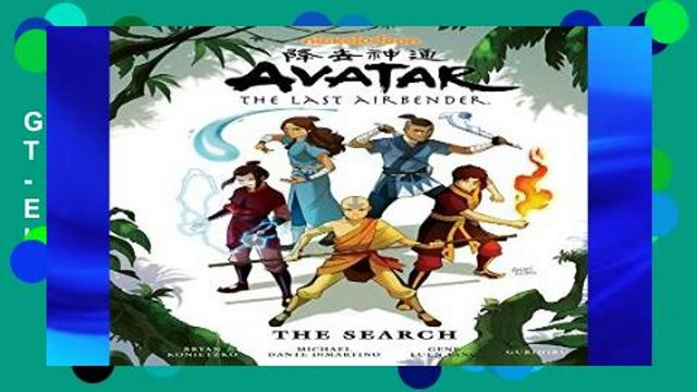 Get Ebooks Trial Avatar: The Last Airbender - The Search Library Edition (Avatar: The Last