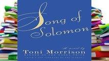 Reading Full Song of Solomon (Vintage International) any format