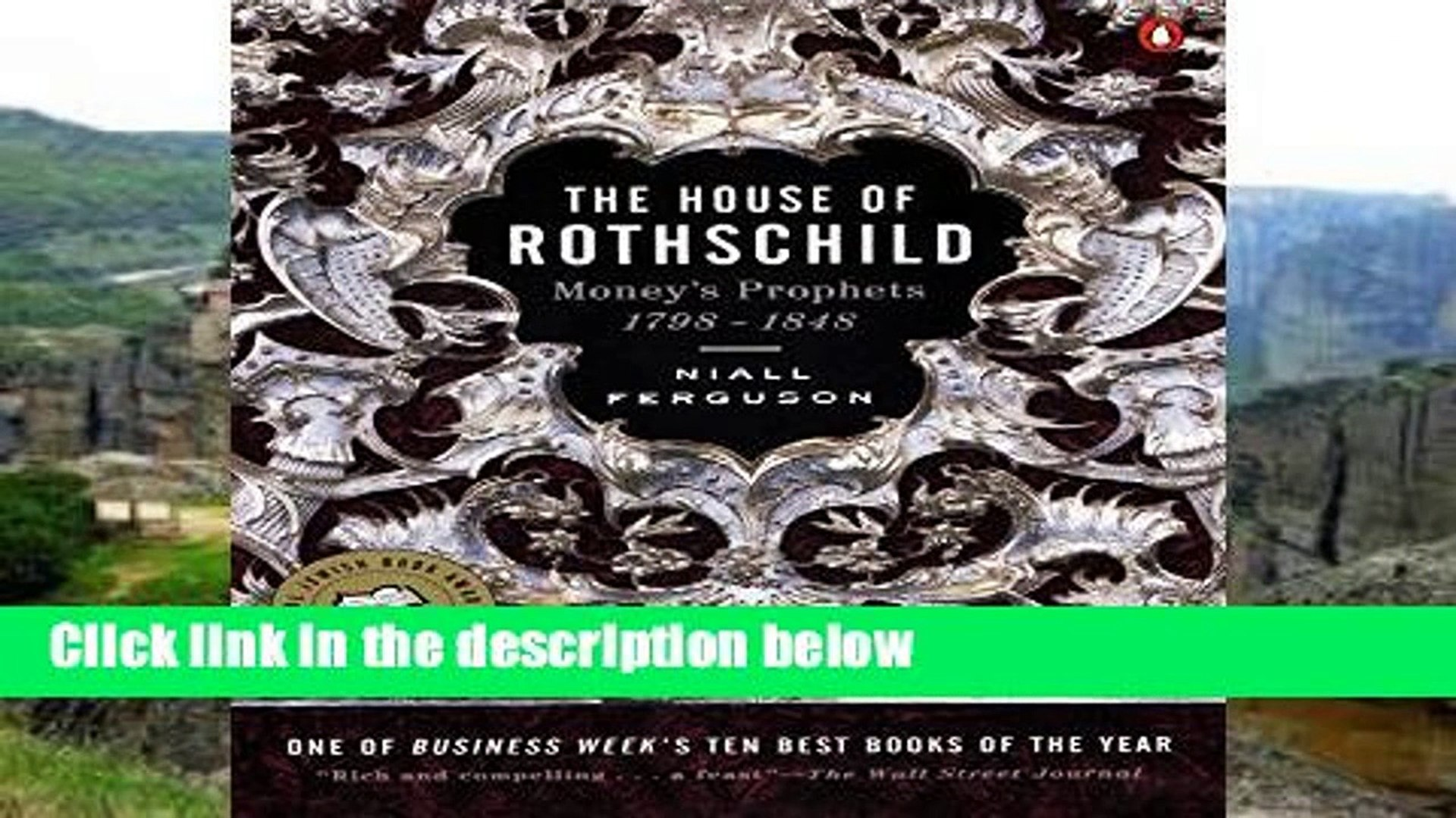 About For Books  The House of Rothschild: Money s Prophets 1798-1848  Review
