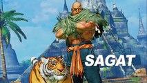 Street Fighter V : Arcade Edition - Sagat Gameplay Trailer