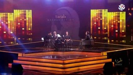 (LIVE) كل ساعة  - مروان خوري والشاب جيلاني ونداء شرارة في برنامج طرب مع مروان خوري