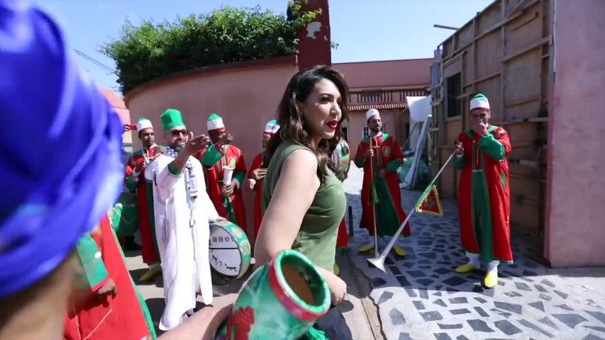 Asma Lmnawar - Making Of (Hay Lbahja) | (أسما لمنور - كواليس كليب سيتكوم (حي البهجة