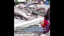 Un nouveau séisme de magnitude 7 frappe l'île de Lombok